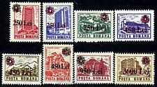 1997 Architecture,Buildings,Hotels,Definitives,surcharged Flower,Romania,5263,NH