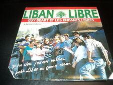 """VINYLE 45 TOURS """"LIBAN LIBRE"""" Guy Beart et les enfants libres"""
