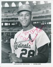 Orlando Cepeda St. Louis Cardinals Signed/Autographed 8x10 Photo Jsa 143143