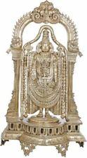 """Master Large Venkateshvara Tirupati Balaji 35.7""""Bronze Jai God Hindu Statue 54KG"""