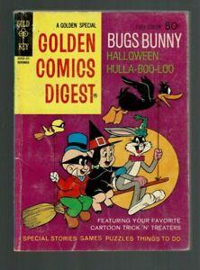 GOLDEN COMICS DIGEST 26 5.0 VGF BUGS BUNNY HALLOWEEN HULLA-BOO-LOO