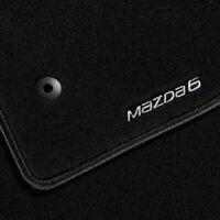Genuine Mazda 6 Estate 2015 onwards Carpet Floor Mats Luxury - GJE8V0320  RHD