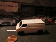 1974 WHITE VAN (G25) SCALE 1/64 - LOOSE CAR NO BOX! - DIORAMAS!
