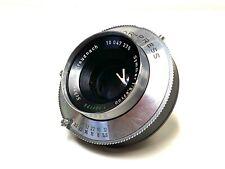 ~Schneider-Kreuznach Symmar 100mm f5.6 Large format Lens