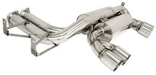 Stainless Tip Megan Racing Axle Back Exhaust Mufflers FITS BMW M3 2Dr E92 08-13