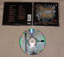 CD Sampler Maximum Rock CD 2 15.Tracks Europe Hooters Bangles Uriah Hepp ...77