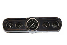Classic Mustang Instrument 65-1966 Standard Black Mechanical Gauge Cluster