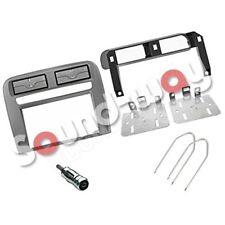 Kit de montage pour autoradio 2 DIN Fiat grande punto gris