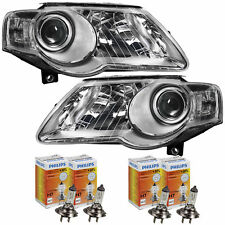 Scheinwerfer Set VW Passat 3C B6 Bj. 05-11 inkl. Philips H7+H7+30% + Motoren