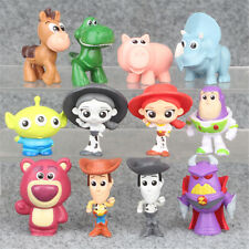 Toy Story Woody Buzz Lighter Alien 12 PCS Action Figure Kid Toy Gift Cake Topper