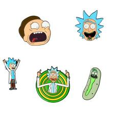 HOT SALE! Rick Morty Pins Hard Enamel Pin Brooches Badges Enamel Accessories