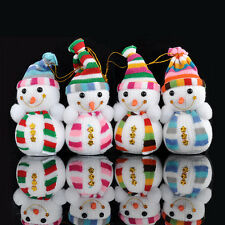Christmas Snowman Cute Ornaments Festival Party Holiday Xmas Tree Hanging Decor