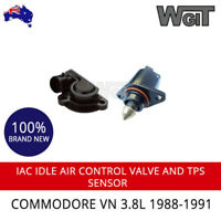 IAC VALVE IDLE AIR CONTROL AND TPS SENSOR FOR COMMODORE VN 3.8L 1988-1991
