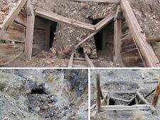 Nevada Gold Mine Lode Historic Churchill Mining Claim Silver Timbered Shaft Adit