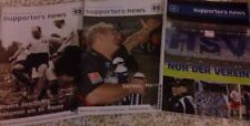 "5 Hefte ""Supporters News"" 2000-2004 HSV Hamburger SV 1887 Fanzine Programmheft"