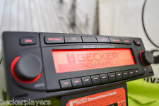 Becker Indianapolis 7922 CD Navi Mp3 Radio player RED illum BMW VW Audi Ferrari