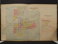 Ohio, Darke County Map, 1910 Versaille & Beamsville, Double Page R4#41
