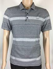 CALVIN KLEIN Men's Polo Shirt sz L/G 3-Button 100% Cotton W/Logo CK