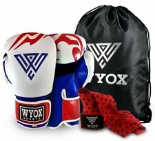 Wyox Flame Fury Pure Leather Boxing Gloves