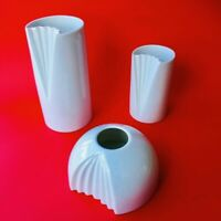 🔴 3 bellissimi vasi in porcellana Rosenthal design Ambrogio Pozzi vintage
