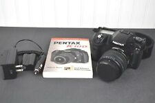 Pentax K10D 10.2MP Digital SLR Camera Black w/ DA 18-55mm Lens *READ*