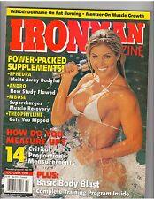 IronMan Bodybuilding fitness magazine WWE Diva Torrie Wilson /Marvin Eder 10-99