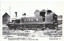 London Railway Postcard - L.M.&S.R. Livery - Plaistow Shed Train in 1924 - V1294