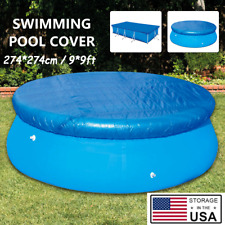 New listing Us Square Swimming Pool Cover Waterproof Dust Cover Durable Outdoor Square Cover