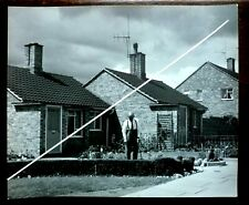 Vintage 1950s.B&W Photo Wolfgang Suschitzky,Hemel Hempstead Old Peoples Bungalow