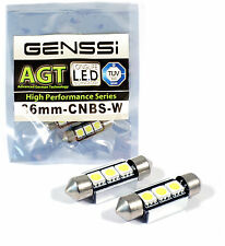 White Festoon Interior or LED License Plate Lights Bulbs Festoon For Audi