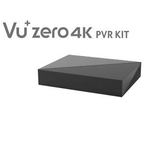 Vu+ Zero 4K Bouchon & Jouer Pvr Kit Boîtier Disque Dur Avec 500GB HDD