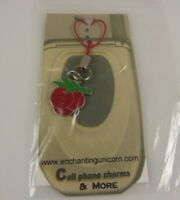 Cherry Cherries Die Casino cell phone or purse charm