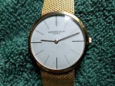 Audemars Piguet 18K solid gold watch with 18K gold mesh bracelet