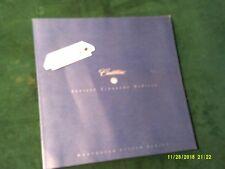 1997 CADILLAC Seville STS Eldorado Deville Concours Deluxe Sales Brochure~#838