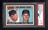 1965 TOPPS #409 ASTROS ROOKIE STARS PSA 8 NM/MT CENTERED!
