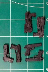 Custom Arsenal pack resin black cast 1:12 6 pack