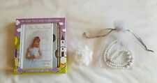 BN Holy Communion Accessories Gifts Missal Book Pen Bracelet Necklace Hair Clip