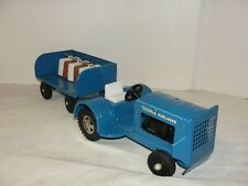 VIntage 1962 Tonka Airlines Tractor with Luggage Trailer - Original Condition