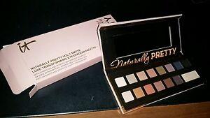 NIB IT Naturally Pretty Vol. 1 Matte Luxe Transforming Eyeshadow Palette
