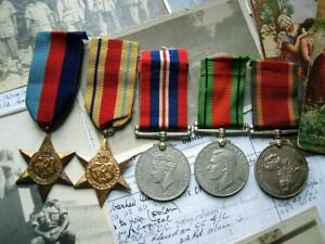 WW2 Africa 1939-45 star South African Joe Delo Cape Pioneer Corps medal group