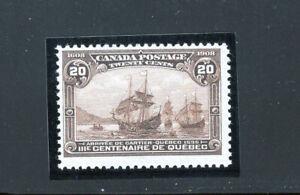 Canada 103 Fine og LH Quebec, CV $250
