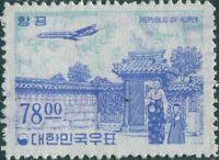 Korea South 1964 SG565 78w Airmail FU