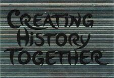 Panini 4 Creating History Together Glitzer EM 2012 Poland - Ukraine