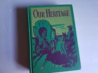 Our Heritage Canada Prose and Verse 1948 Natl Defence Hardcover Book Vintage