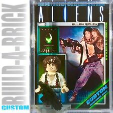 Aliens Ellen Ripley Custom Mini Action Figure w Display Case 385 Mini-fig