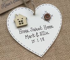 Personalised New Home Sweet Home House Warming Gift Plaque Sign Family Present