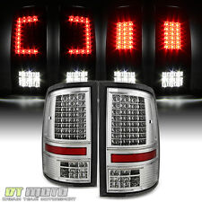 2009-2017 Dodge Ram 1500 10-17 2500 3500 C Strip Full LED Rear Tail Lights Lamps