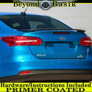 2016 2017 2018 Ford Focus 4DR Sedan Factory Style Spoiler Trunk Wing PRIMER