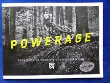 Rock Machine E-Bikes Mountainbikes Vélos - Prospectus Programme 2018