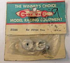 Gar-Vic #2305 Wheels for #2104 tires 1:32 or 1:24 slot cars Mip